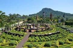 Jardim de Nong Nooch Fotografia de Stock