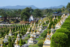 Jardim de Nong Nooch Foto de Stock
