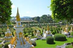 Jardim de Nong Nooch Imagem de Stock