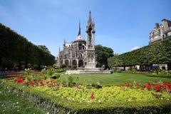 Jardim de Notre Dame Foto de Stock Royalty Free
