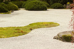 Jardim de pedra Fotos de Stock Royalty Free