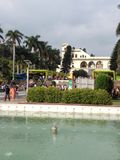 Jardim de Pinjore fotografia de stock