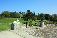 Jardim de Powerscourt Fotos de Stock Royalty Free