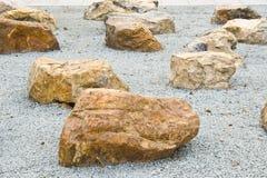 Jardim de rocha Fotografia de Stock