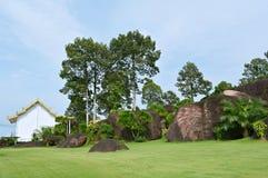 Jardim de rocha Foto de Stock Royalty Free