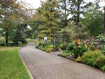Jardim de rosas dentro de Tyler Texas EUA fotos de stock