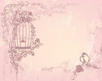 Jardim de rosas do vintage Foto de Stock