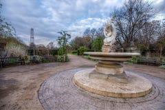 Jardim de rosas em Hyde Park Fotos de Stock Royalty Free
