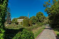 Jardim de rosas em Petrin Hil Imagens de Stock