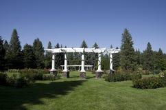 Jardim de rosas Spokane foto de stock