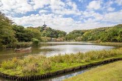 Jardim de Sankei imagens de stock royalty free