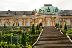 Jardim de Sanssouci Foto de Stock Royalty Free
