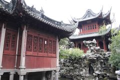 Jardim 1 de Shanghai Yu Fotos de Stock Royalty Free