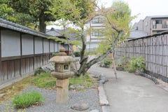 Jardim de Shosei em Kyoto, Jap?o fotografia de stock