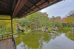 Jardim de Shosei em Kyoto, Jap?o fotos de stock
