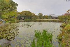 Jardim de Shosei em Kyoto, Jap?o imagem de stock
