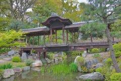 Jardim de Shosei em Kyoto, Jap?o foto de stock