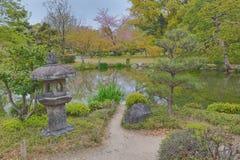 Jardim de Shosei em Kyoto, Jap?o imagens de stock