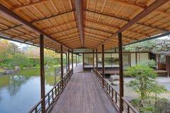 Jardim de Shosei em Kyoto, Jap?o fotos de stock royalty free