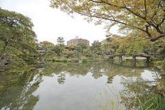 Jardim de Shosei em Kyoto, Jap?o imagens de stock royalty free