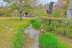 Jardim de Shosei em Kyoto, Jap?o foto de stock royalty free