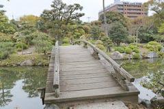 Jardim de Shosei em Kyoto, Jap?o imagem de stock royalty free