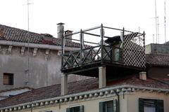 Jardim de telhado Imagens de Stock Royalty Free