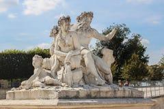 Jardim de Tuileries Foto de Stock Royalty Free