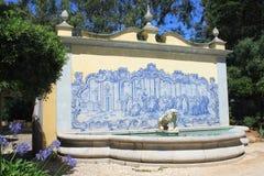 Jardim de um palácio Foto de Stock