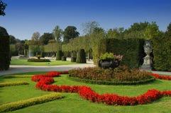 Jardim de Viena Schonbrunn, Áustria Fotografia de Stock
