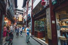 Jardim de Yu Yuan, Shanghai, China fotografia de stock royalty free