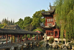 Jardim de Yuyuan Imagem de Stock Royalty Free