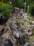 Jardim decorativo na natureza foto de stock royalty free