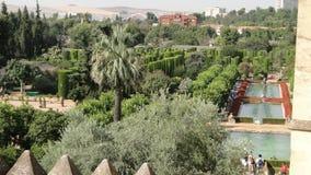 Jardim do Alcazar, Córdova Fotos de Stock