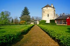 Jardim do castelo Imagens de Stock Royalty Free