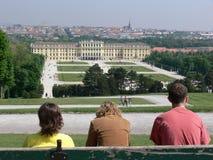 Jardim do castelo Imagem de Stock