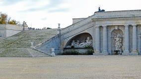 Jardim do castelo Chantilly foto de stock royalty free