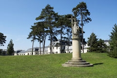 Jardim do castelo de Festetics em Keszthely, Hunga Fotografia de Stock