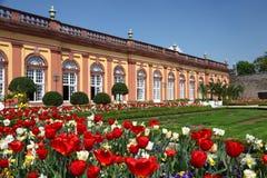 Jardim do castelo Weilburg, Alemanha Fotografia de Stock