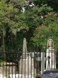 Jardim do cemitério Foto de Stock
