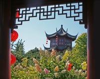 Jardim do chinês de Montreal. Imagens de Stock Royalty Free