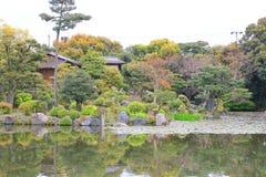 jardim do en do shosei em jap?o imagens de stock