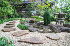 Jardim do estilo japonês Imagens de Stock Royalty Free