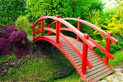 Jardim do estilo japonês Fotografia de Stock Royalty Free