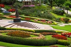 Jardim do Fahrenheit Luang de Mae Fotografia de Stock Royalty Free