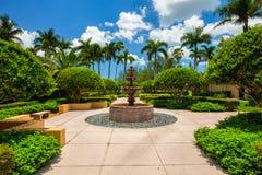Jardim do hotel de Biltmore Imagem de Stock