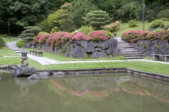 Jardim do japonês de Seattle Imagens de Stock Royalty Free