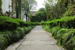 Jardim do lugar nativo do Lu Xun imagens de stock