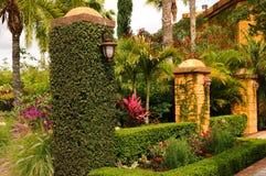 Jardim do luxuoso Foto de Stock