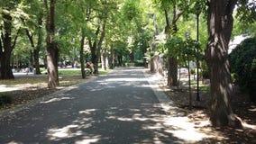 Jardim do mar de Bourgas fotografia de stock royalty free